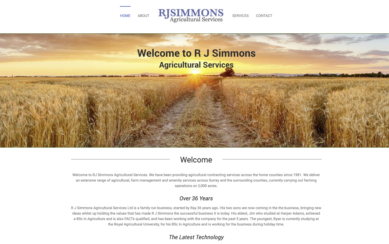 Visit the RJ Simmons Website