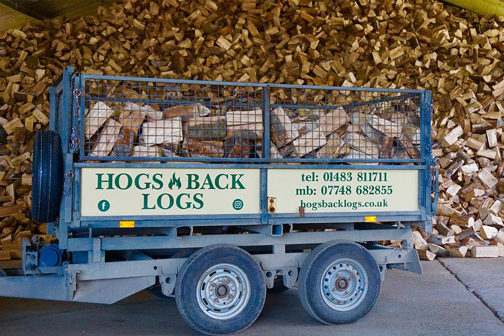 Hogs Back Logs deliverd to your door