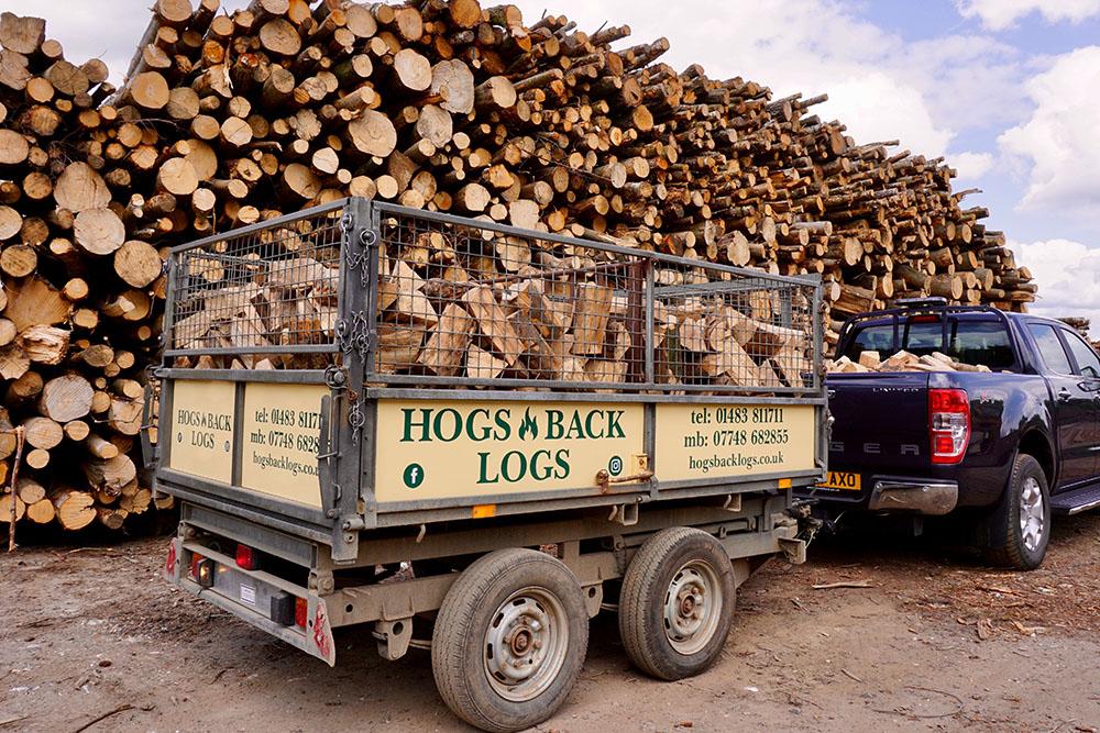 Hogs Back Logs Deliveries